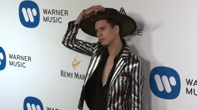 Spencer Ludwig at Warner Music Group Grammy Party in Los Angeles CA