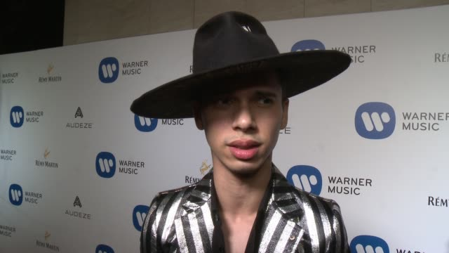 INTERVIEW Spencer Ludwig on the event at Warner Music Group Grammy Party in Los Angeles CA
