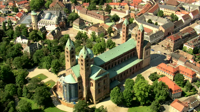 speyer cathedral - frau stock videos & royalty-free footage