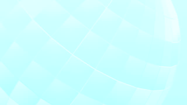 Sphere Blue Background Loopable
