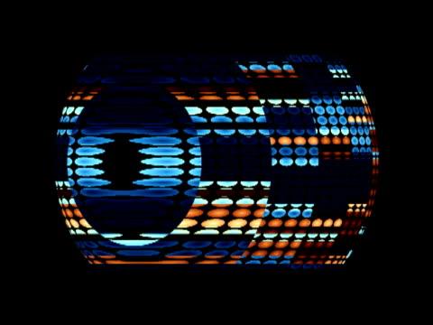 vídeos de stock, filmes e b-roll de cgi, sphere rotating against black background - movimento perpétuo