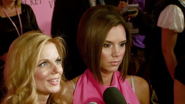 spice girls at the 12th annual victoria's secret fashion show at the kodak theatre in hollywood, california on november 15, 2007. - spice girls stock videos & royalty-free footage