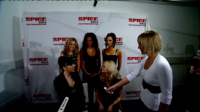 Spice Girls start UK comeback tour Spice Girls interview SOT it was brilliant Melanie Chisholm SOT had incredible audiencesBritish crowd are the best...