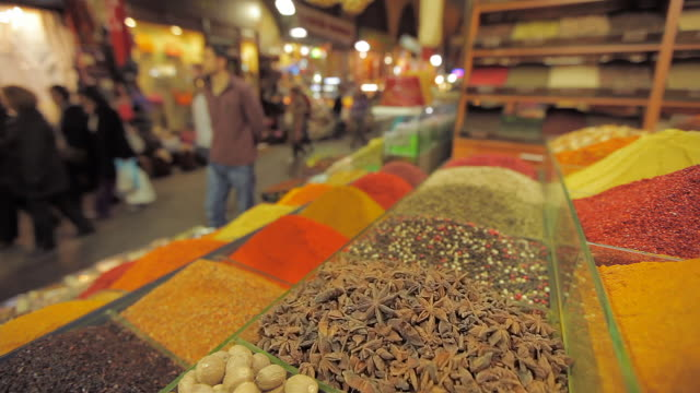 spice market 03 - spice bazaar stock videos & royalty-free footage