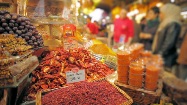 spice market 11 - spice bazaar stock videos & royalty-free footage