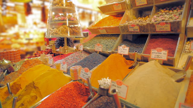spice market 13 - spice bazaar stock videos & royalty-free footage