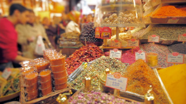 spice market 14 - spice bazaar stock videos & royalty-free footage