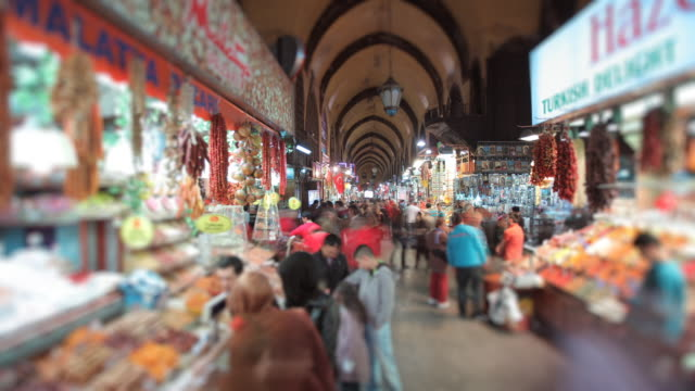 spice market tl - spice bazaar stock videos & royalty-free footage