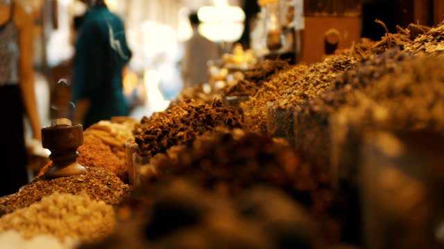 stockvideo's en b-roll-footage met spice market - markt
