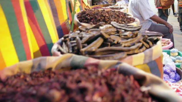 Spice merchants in the Khan elKhalili souk