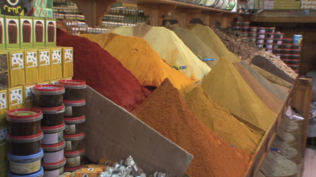 MS ZI Spice stall, Marrakech, Morocco
