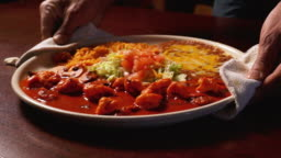 Spicy Mexican Jumbo Shrimp Diablo in a Hot Red Sauce