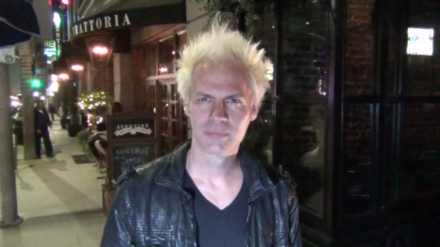 spider one from powerman 5000 talks about his brother rob zombie as he leaves aventine restaurant in hollywood 08/06/13 spider one from powerman 5000... - rob zombie stock videos & royalty-free footage