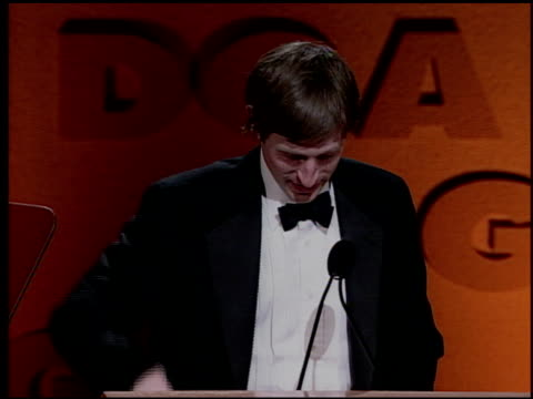 Spike Jonze at the DGA Awards press room on March 11, 2000