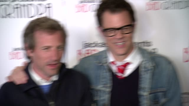 Spike Jonze Johnny Knoxville and Jackson Nicoll at Jackass Presents Bad Grandpa New York Special Screening at Sunshine Landmark New York NY on...
