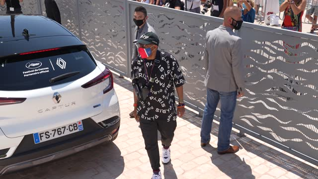 spike lee arrives at the photo call during the 74th annual cannes film festival at on july 06, 2021 in cannes, france. - photo call stock videos & royalty-free footage