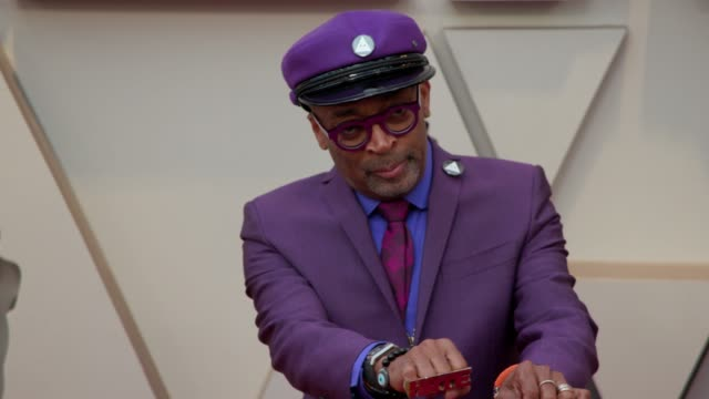 spike lee at dolby theatre on february 24, 2019 in hollywood, california. - academy awards stock-videos und b-roll-filmmaterial