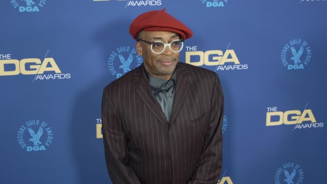 spike lee at the 71st annual dga awards at the ray dolby ballroom at hollywood highland center on february 02 2019 in hollywood california - director's guild of america stock videos & royalty-free footage