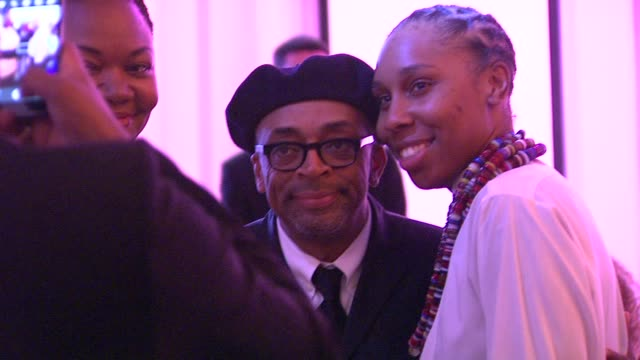 spike lee at the 7th annual essence black women in hollywood luncheon at beverly hills hotel on february 27, 2014 in beverly hills, california. - beverly hills hotel stock videos & royalty-free footage