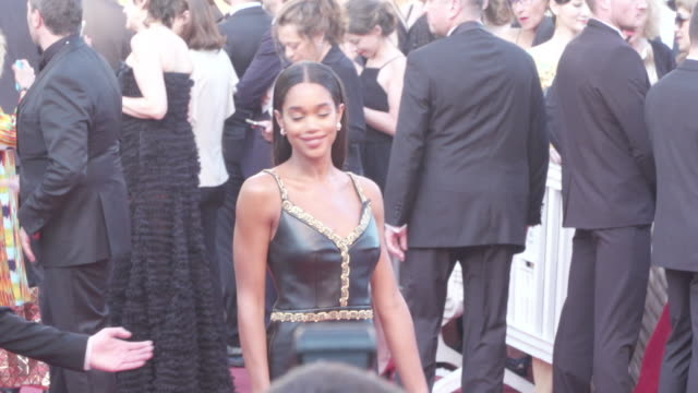 spike lee tonya lewis and laura harrier shine on the red carpet of the man who killed don quixote - 71st international cannes film festival stock videos & royalty-free footage
