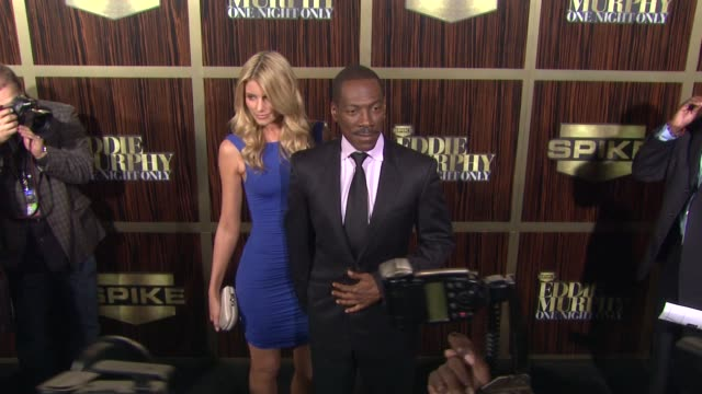 spike tv's eddie murphy one night only los angeles ca united states 11/3/12 - arsenio hall stock videos & royalty-free footage