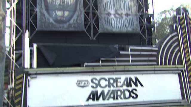 spike tv's 'scream awards at the spike tv's 'scream awards at universal city ca - universal city stock videos & royalty-free footage
