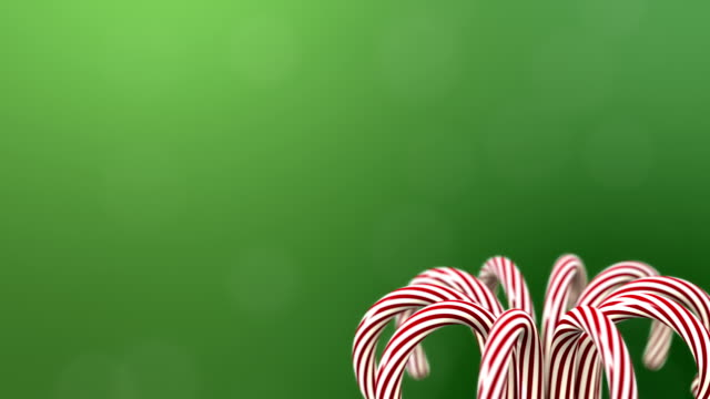 spinning candy canes with copy space - candy cane stock videos & royalty-free footage