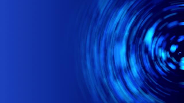 Spinning Circles Background Loop - Pastel Blue