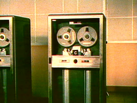 spinning computer reels - archival stock videos & royalty-free footage