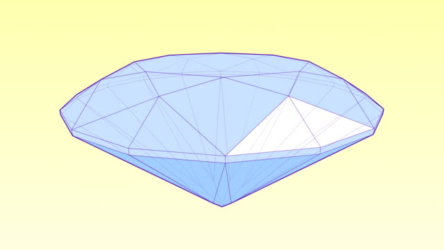 spinning diamond - stone object stock videos & royalty-free footage