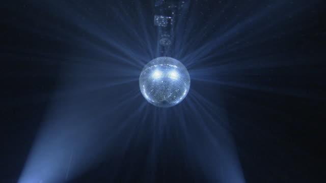 WS, LA, Spinning disco ball