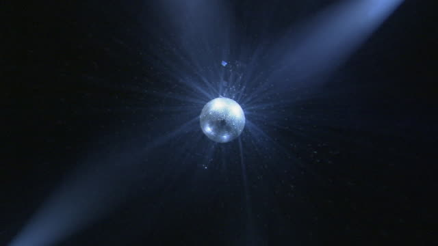ws, la, spinning disco ball - mirror ball stock videos & royalty-free footage