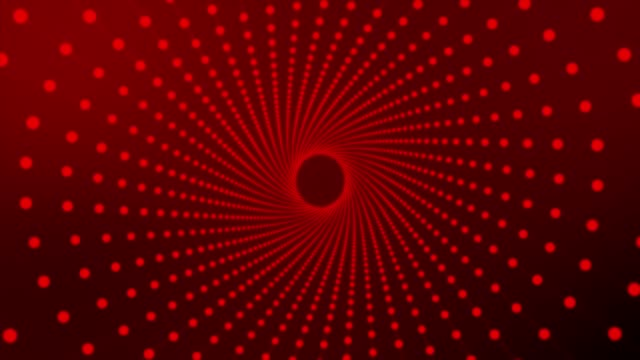 spinning dots- red - concentric stock videos & royalty-free footage