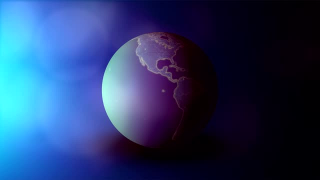 spinning earth - copy space stock videos & royalty-free footage