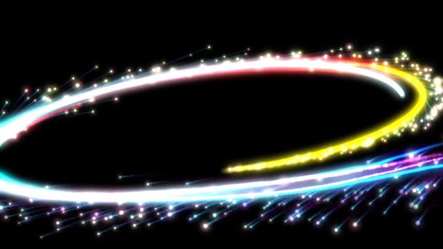 spinning fireworks transition - tvådimensionell form bildbanksvideor och videomaterial från bakom kulisserna