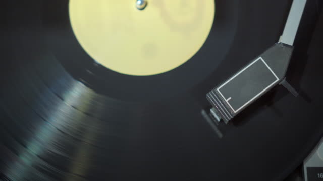 spinning record,close-up - turntable stock videos & royalty-free footage