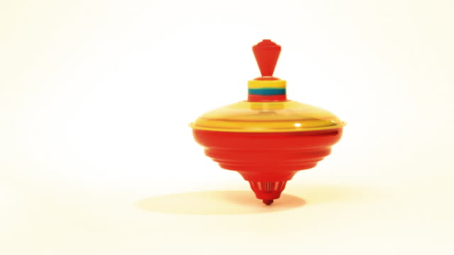 spinning top. - toy stock videos & royalty-free footage