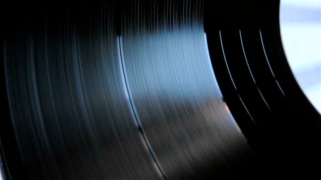 spinning vinyl disc close-up wipes - disk stock videos & royalty-free footage