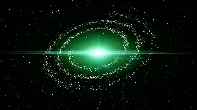 渦巻銀河の 3 d アニメーション - 天地創造点の映像素材/bロール
