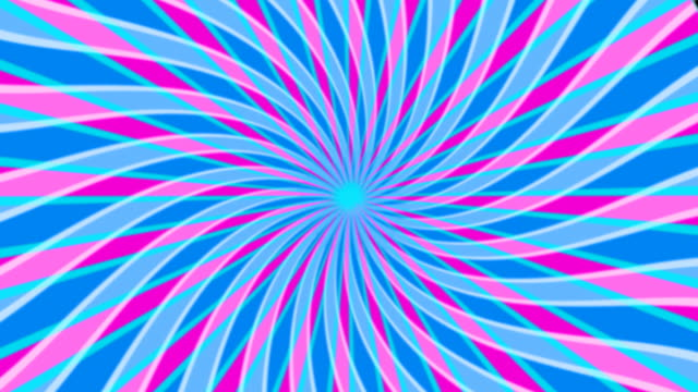 spiral interference - psychedelic stock videos & royalty-free footage