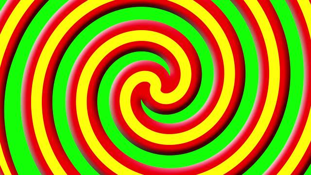 vidéos et rushes de spiral quick opening the screen transition transparent. - forme géométrique