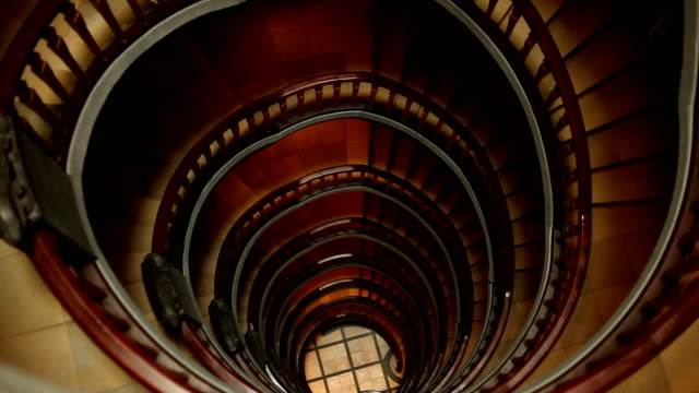 spiral staircase + audio - majestic stock videos & royalty-free footage