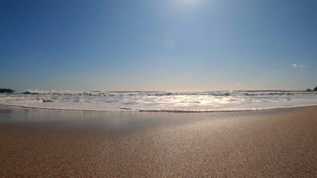 splashes of wave - low angle view stock videos & royalty-free footage