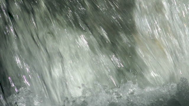 splashing and frothing water at base of waterfall - river franscinone - ticino canton stock videos and b-roll footage
