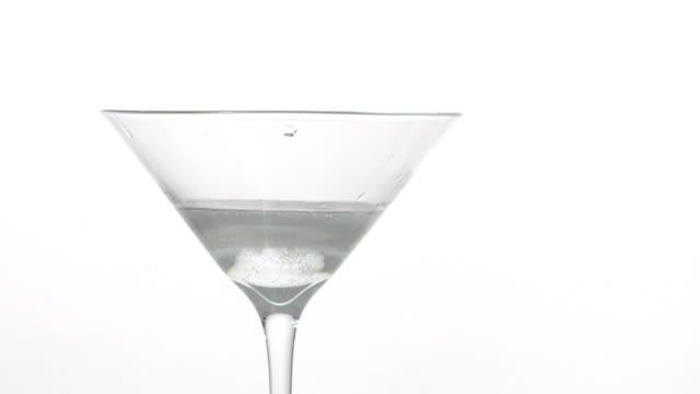 splashing drink .. - martini glass stock videos and b-roll footage