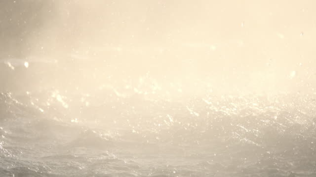 Plätschern des Hot spring