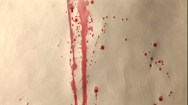 splatters of blood stain a wall. - stained stock videos & royalty-free footage