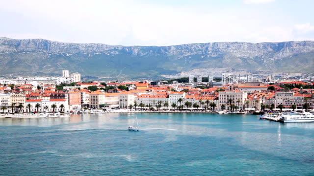 split croatia - division stock videos & royalty-free footage