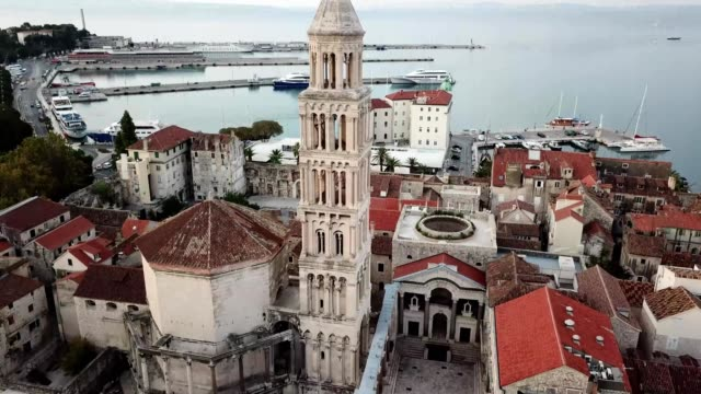 split, croatia - croazia video stock e b–roll