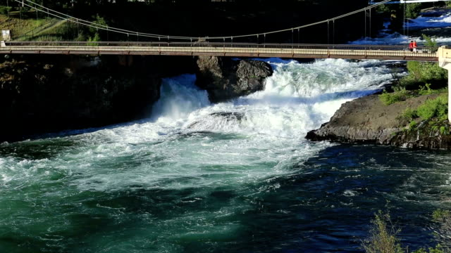 spokane, wa river - washington state stock videos & royalty-free footage